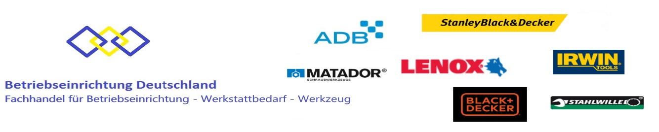 Sortiment ADB Betriebseinrichtungen GmbH & Toolvizion International BV